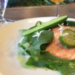 sea trout with cucumber food at northern monk