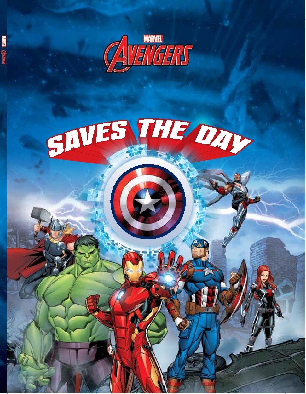 Avenger Saves the Day