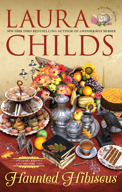 Tea Shop Mysteries by Laura Childs