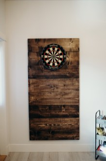 This bad boy is 3.5 ft wide and 6 ft tall and is perfect for game night!