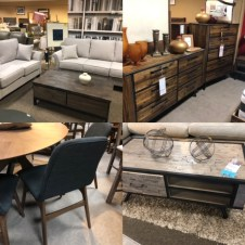 Shopping for staging furniture for two show homes in Kamloops..... shop shop shop
