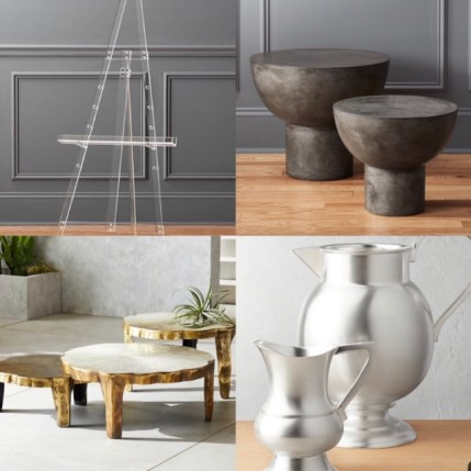 Shopping for those final touches for clients! These items are all from Cb2