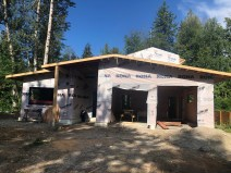 Working with amazing clients and Cochrane Construction on this unique and totally custom new home with mountain views!
