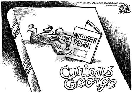 The Creationism Intelligent Design Editorial Cartoons