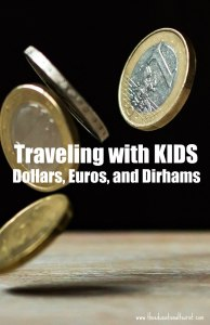 euros coins, Traveling with KIDS - money, www.theeducationaltourist.com