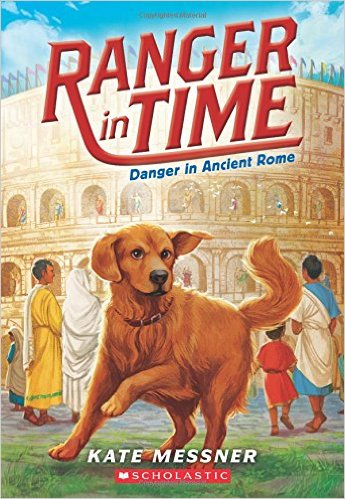 Ranger in Time: Danger in Ancient Rome, Kids' Books Set in Italy, www.theeducationaltourist.com