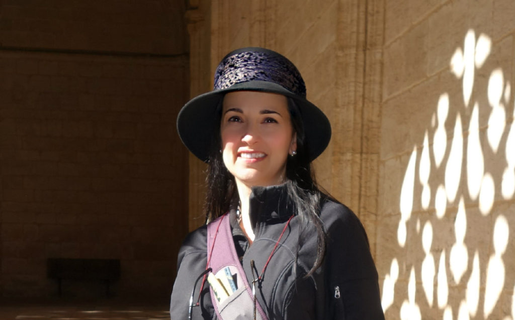 The Educational Tourist with hat in Spain, Travel Hat Information, www.theeducationaltourist.com