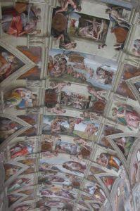 Sistine Chapel ceiling, Visit Vatican City with KIDS, www.theeducationaltourist.com