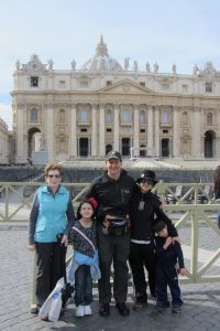 The Educational Tourist and family Vatican City, Visit Rome, www.theeducationaltourist.com