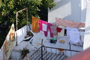 laundry hanging out to dry in Morocco, best packing tip EVER, www.theeducationaltourist.com
