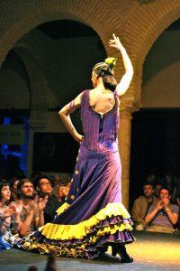 female flamenco dancer, Flamenco, www.theeducationaltourist.com