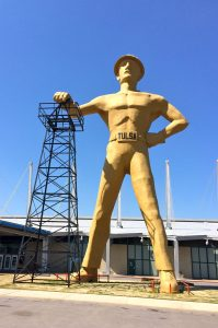 Five Things I Love About Tulsa: Golden Driller