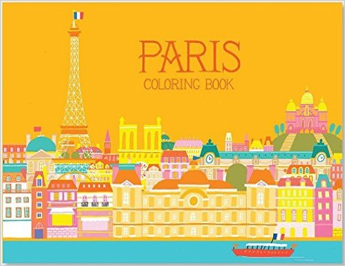 Paris Coloring Book: Kids' Books set in Paris www.theeducationaltourist.com