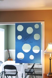 large paper game for hotel, photo from Sewing Mama ReaAnna, Road Trip games
