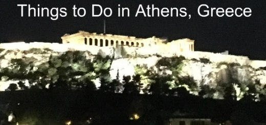 parthenon on acropolis in Athens, Greece