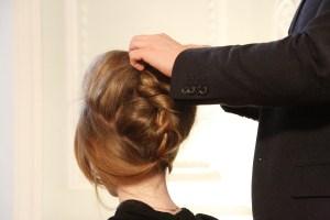 Woman getting hair done in undo braid, Travel Hair, www.theeducationaltourist.com