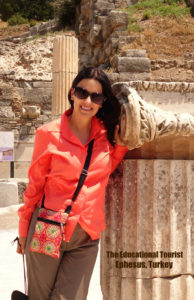 The Educational Tourist in Ephesus, Suitcases for Kids, www.theeducationaltourist.com