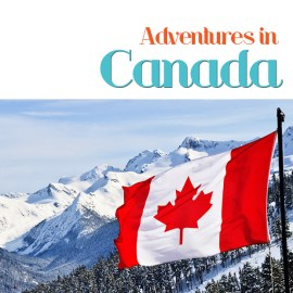 Adventures of Canada travel guide book cover