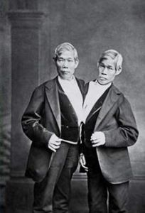 Chang and Eng Bunker siamese twins, US Creepy Places to Visit, www.theeducationaltourist.com
