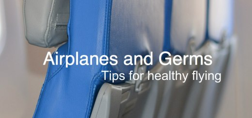 Airplane seats, Airplanes and Germs, www.theeducationaltourist.com