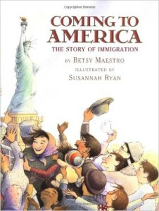 Coming to America: The Story of Immigration, Kids' Books set in New York City, www.theeducationaltourist.com