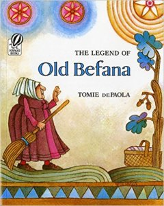The Legend of Old Befana by Tomie de Paola, Christmas in Italy, www.theeducationaltourist.com