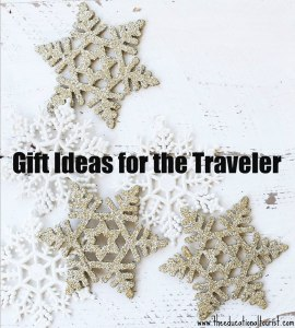 white and beige stars on a white background, Gift Ideas for the Traveler, www.theeducationaltourist.com