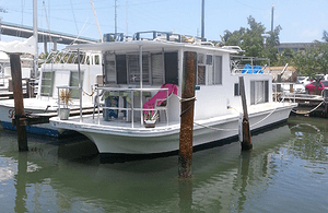 photo from Keys Houseboat rentals, unusual hotels with kids