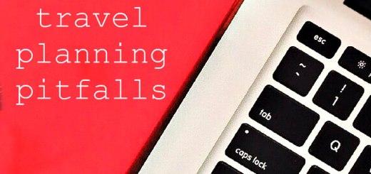 Avoid online travel planning problems