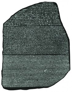 Rosetta_Stone_BW