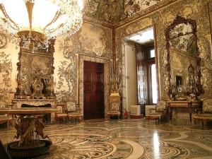 Gaudi room in Madrid's Royal Palace, Visit Madrid, www.theeducationaltourist.com