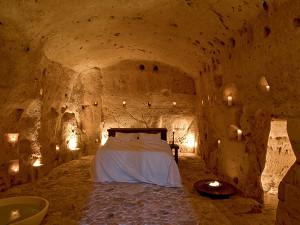 photo from Sextantio, La Grotte Della Civita, unusual hotels with kids, superior room