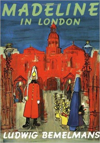 Madeline in London, Kids' Books set in London, www.theeducationaltourist.com
