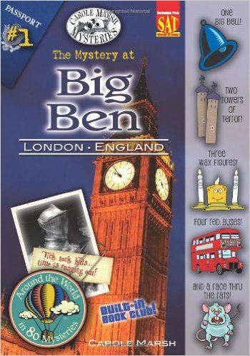The Mystery at Big Ben: Kids' Books Set in London www.theeducationaltourist.com