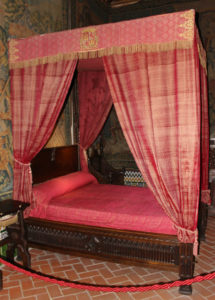 Royal bed in Alcazar in Segovia, Spain, Visit Madrid, www.theeducationaltourist.com