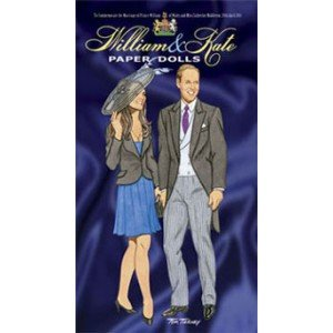 Dollhouse Tierney - William and Kate Paper Dolls, www.theeducationaltourist.com