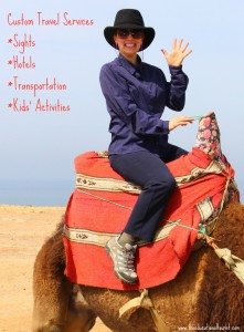 The Educational Tourist rides a camel, Austin Visit, www.theeducationaltouristi.com