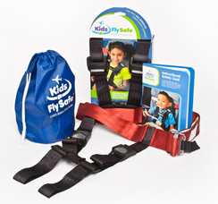 Kid's fly safe package, Safe Flying for Families, www.theeducationaltourist.com