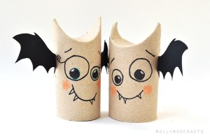 toilet-roll-bat-friends from Molly MOO, Austin Visit, www.theeducationaltouristi.com