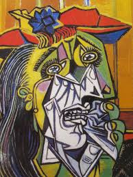 art -Picasso Weeping Woman
