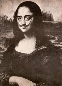art mona-lisa-Salvador Dali