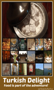 Collage of photos about Turkey
