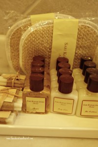 soaps and lotions, Sari Konak Hotel in Istanbul, www.theeducationaltourist.com