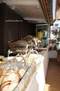 buffet, Sari Konak Hotel in Istanbul, www.theeducationaltourist.com