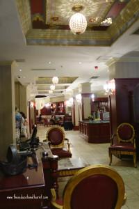 Serkici Mansion Hotel Istanbul lobby, www.theeducationaltourist.com