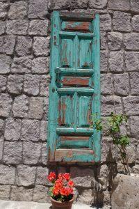 old painted door Cappadocia Turkey, Taskonaklar Hotel , www.theeducationaltourist.com