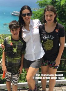 The Educational Tourist in Tortola, British Virgin Islands, Jet lag with KIDS, www.theeducaitonaltourist.com