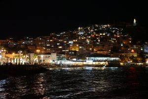 Turkey Photo Essay Night view in Kusadasi Turkey