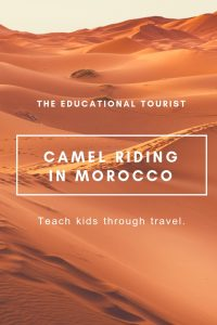 sand dunes, camel in morocco