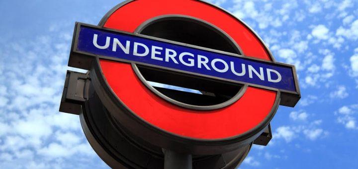 London Tube underground sign